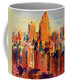 Upper Manhattan Coffee Mug