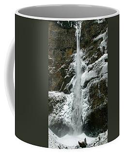 Upper Multnomah Falls Ice Coffee Mug