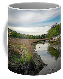 Coffee Mug featuring the photograph Upper Saugatuck River - Westport By Mike-hope by Michael Hope