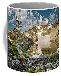 Coffee Mug featuring the photograph Upper Skytop Lake by Leland D Howard