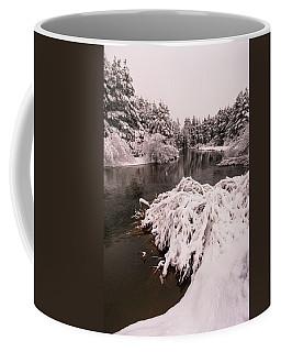 Upper Truckee River Spring Snow Flow Coffee Mug