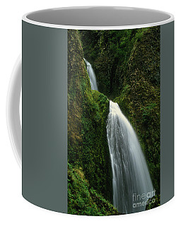 Upper Wahkeena Falls Coffee Mug