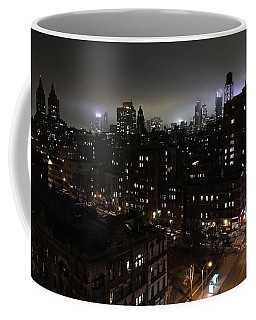 Coffee Mug featuring the photograph Upper West Side by JoAnn Lense