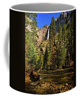 Upper Yosemite Falls From Yosemite Creek Coffee Mug