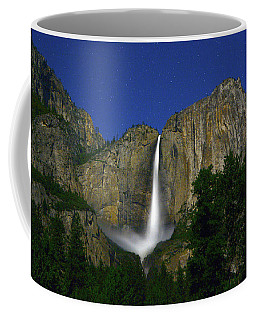 Upper Yosemite Falls Under The Stairs Coffee Mug