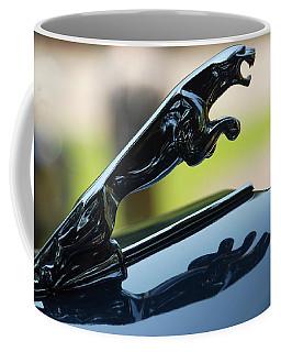 Coffee Mug featuring the photograph Upperclass Cat by John Schneider