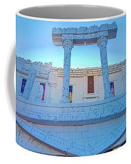 Upside Down White House Coffee Mug