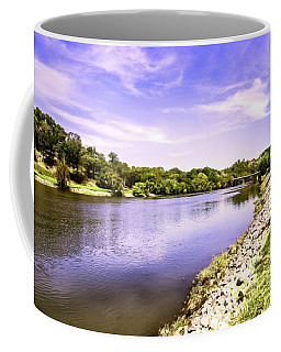 Upstream On The French Broad River Coffee Mug