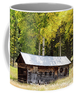 Uptop A Colorado Ghost Town Coffee Mug by Nadja Rider