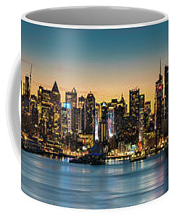 Uptown And Midtown At Sunrise Coffee Mug