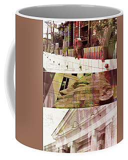 Uptown Library With Color Coffee Mug