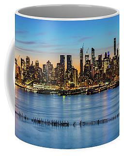 Uptown Skyline At Sunrise Coffee Mug