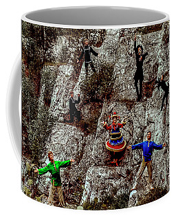 Coffee Mug featuring the photograph Ural's Folk Group by Vladimir Kholostykh