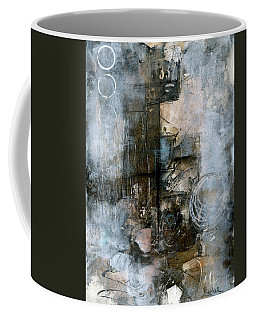 Urban Abstract Cool Tones Coffee Mug