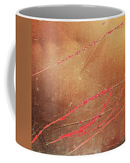 Urban Abstract. #scratchedpaint #red Coffee Mug