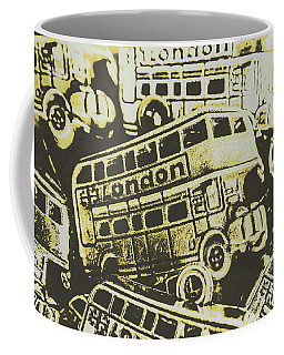 Urban Bus Mural Coffee Mug