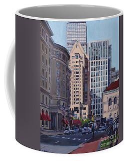 Urban Canyon - Saint James Street, Boston Coffee Mug