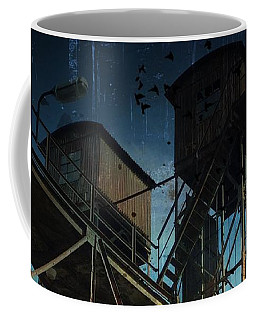 Coffee Mug featuring the photograph Urban Past by Ivana Westin