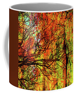 Urban Streets Summer Day Abstract Grunge Coffee Mug