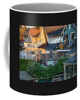 Coffee Mug featuring the photograph Urban Vancouver by Theresa Tahara