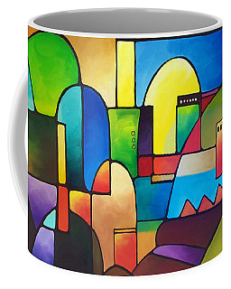 Urbanity 2 Coffee Mug by Sally Trace