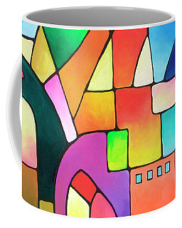 Urbanity Coffee Mug by Sally Trace