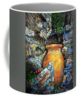 Urn Among The Rocks Coffee Mug
