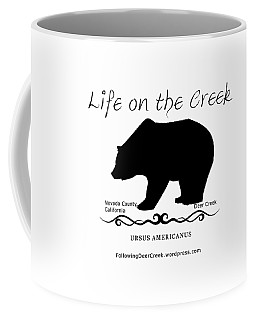 Ursus Americanus - Black Text Coffee Mug