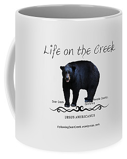 Ursus Americanus - Color Bear Black Text Coffee Mug