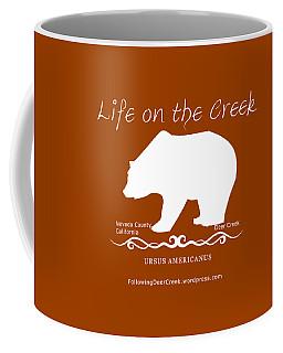 Ursus Americanus - White Text Coffee Mug