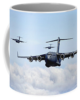 U.s. Air Force C-17 Globemasters Coffee Mug