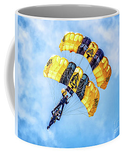 Coffee Mug featuring the photograph U.s. Army Golden Knights by Nick Zelinsky