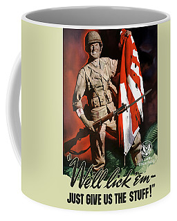 Us Army -- World War Two Propaganda Coffee Mug