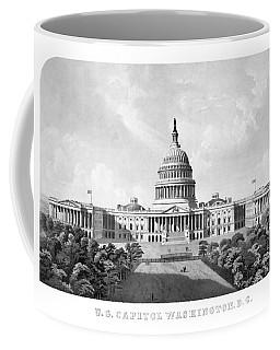 Us Capitol Building - Washington Dc Coffee Mug