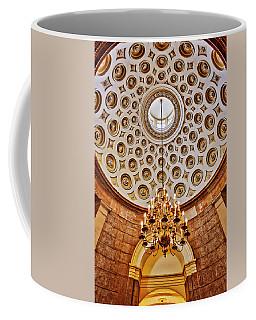 Coffee Mug featuring the photograph Us Capitol Rotunda Washington Dc by Susan Candelario