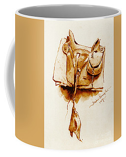 Us Cavalry Saddle 1869 Coffee Mug