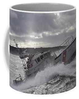 U.s. Coast Guard Motor Life Boat Brakes Coffee Mug