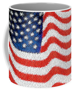 U.s. Flag Coffee Mug