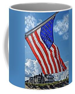 Us Flag,ocean Grove,nj Flag Coffee Mug