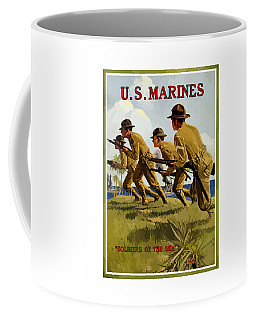 Us Marines - Soldiers Of The Sea Coffee Mug