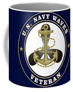 U. S. Navy Waves Veteran Coffee Mug