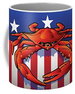 Usa Crab Coffee Mug