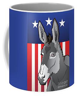 Usa Donkey Coffee Mug