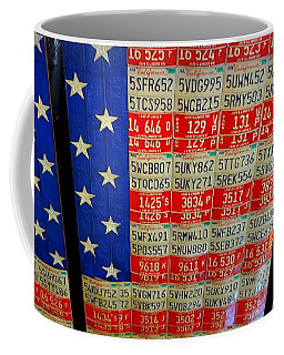 Red White And Blue Coffee Mug