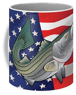 Usa Rockfish Striped Bass Coffee Mug