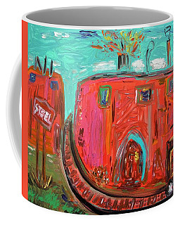 Usa Steel Still Fascinates Coffee Mug by Mary Carol Williams