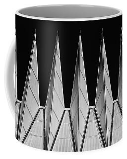 U. S. A. F. Academy Cadet Chapel Detail Coffee Mug