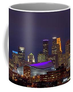 Usbank Stadium Dressed In Purple Coffee Mug