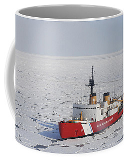 Uscgc Polar Sea Conducts A Research Coffee Mug
