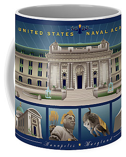 Usna Monuments Tribute 2 Coffee Mug